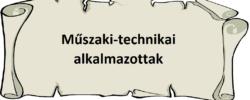 Műszaki-technikai alkalmazottak